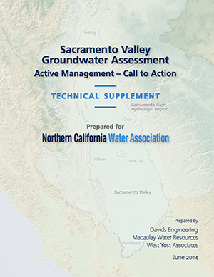 Sacramento Valley Groundwater Assessment – Technical Supplement