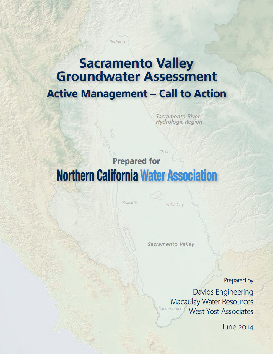 Sacramento Valley Groundwater Assessment