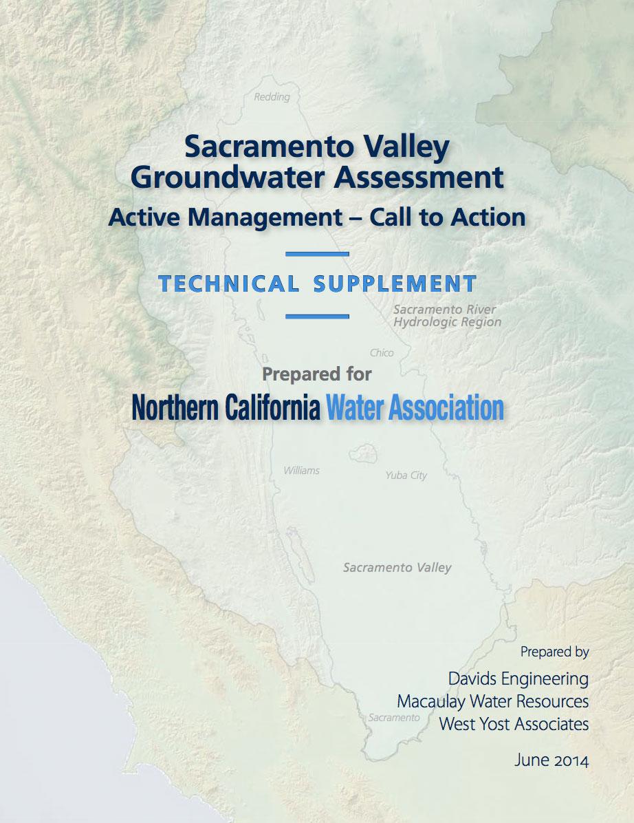 Sacramento Valley Groundwater Assessment – Technical Supplement.